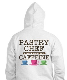 Pastry Chef Powered by Caffeine Hoodie