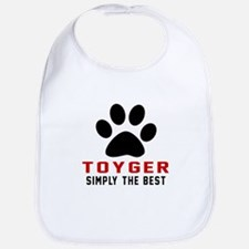 Toyger Simply The Best Cat Designs Bib