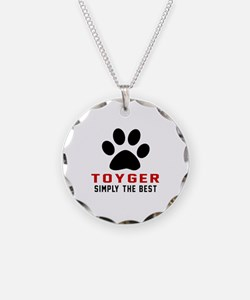 Toyger Simply The Best Cat D Necklace