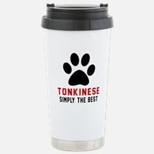 Tonkinese Simply The Be Stainless Steel Travel Mug