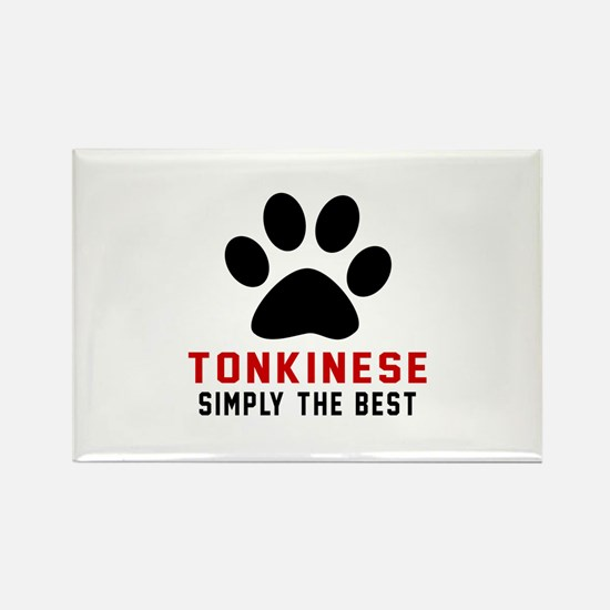 Tonkinese Simply The Be Rectangle Magnet (10 pack)