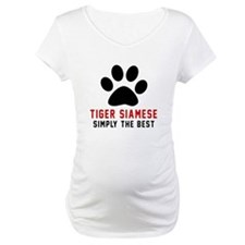 Tiger siamese Simply The Best Ca Shirt