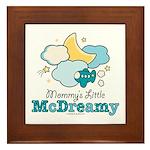 Mommy's Little McDreamy Framed Tile
