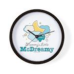 Mommy's Little McDreamy Wall Clock