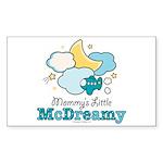 Mommy's Little McDreamy Rectangle Sticker