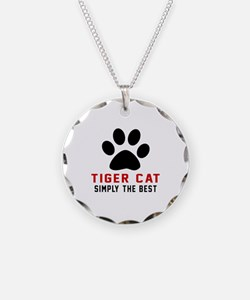 Tiger cat Simply The Best Ca Necklace