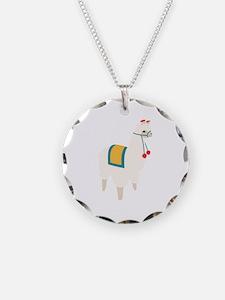 Alpaca Animal Necklace