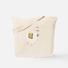 Alpaca Animal Tote Bag