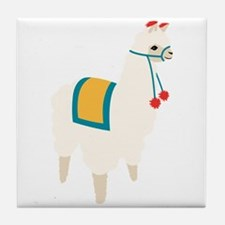 Alpaca Animal Tile Coaster