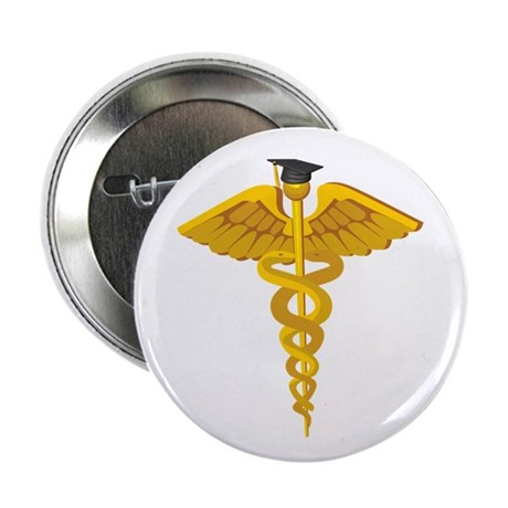 Medical School Graduation Button
