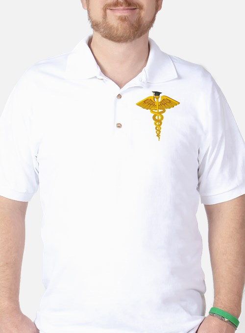 Medical School Graduation Golf Shirt