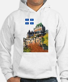 Frontenac Castle and Flag Hoodie
