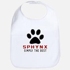 Sphynx Simply The Best Cat Designs Bib