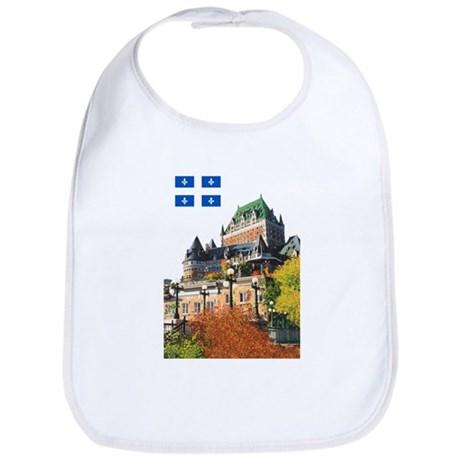 Frontenac Castle and Flag Bib