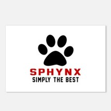 Sphynx Simply The Best Ca Postcards (Package of 8)
