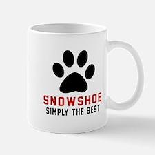 Snowshoe Simply The Best Cat Designs Mug