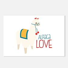 Alpaca Love Postcards (Package of 8)
