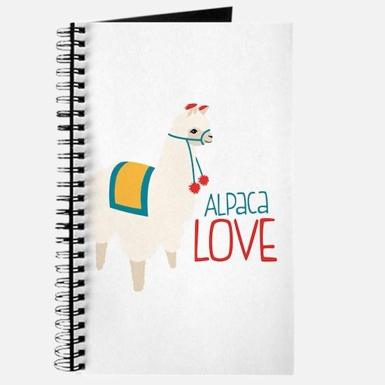 Alpaca Love Journal