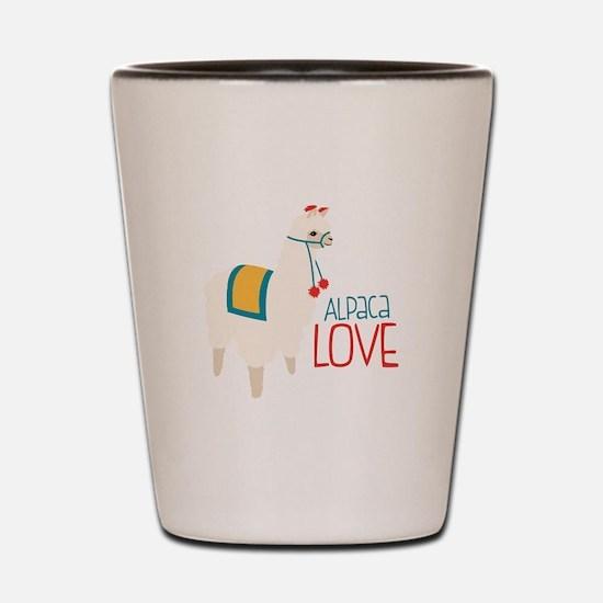 Alpaca Love Shot Glass