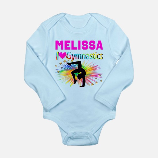 GYMNAST DREAMS Long Sleeve Infant Bodysuit