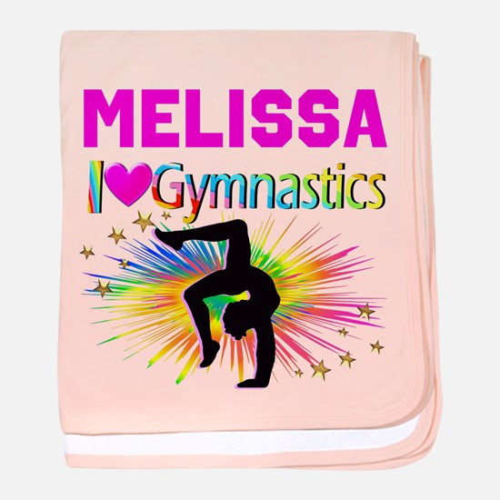 GYMNAST DREAMS baby blanket