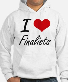 I love Finalists Jumper Hoody