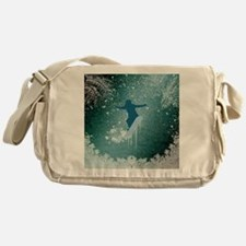 Snowboarding Messenger Bag