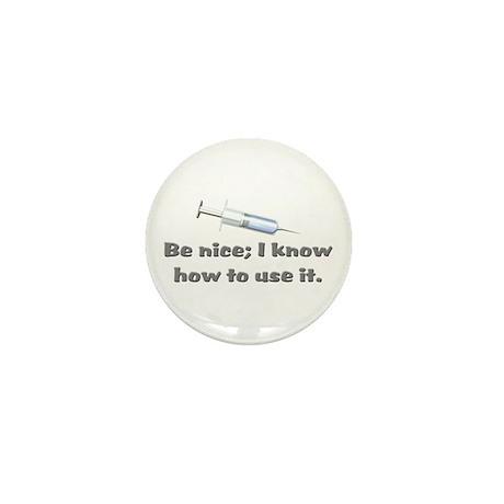 Nurse Medical Graduation Mini Button