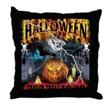 HALLOWEEN 1 Throw Pillow