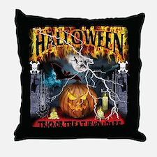 HALLOWEEN 1 Throw Pillow