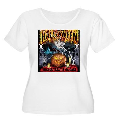 HALLOWEEN 1 Women's Plus Size Scoop Neck T-Shirt