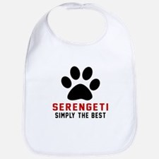 Serengeti Simply The Best Cat Designs Bib
