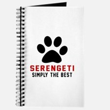 Serengeti Simply The Best Cat Designs Journal
