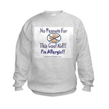 No Peanuts For This Cool Kid Sweatshirt