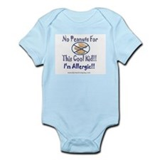 No Peanuts For This Cool Kid Infant Bodysuit
