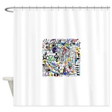 Life Number Nine Shower Curtain