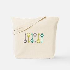 Keys Border Tote Bag