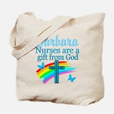 FAITH FILLED NURSE Tote Bag