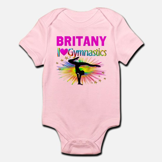 GYMNAST DREAMS Baby Light Bodysuit