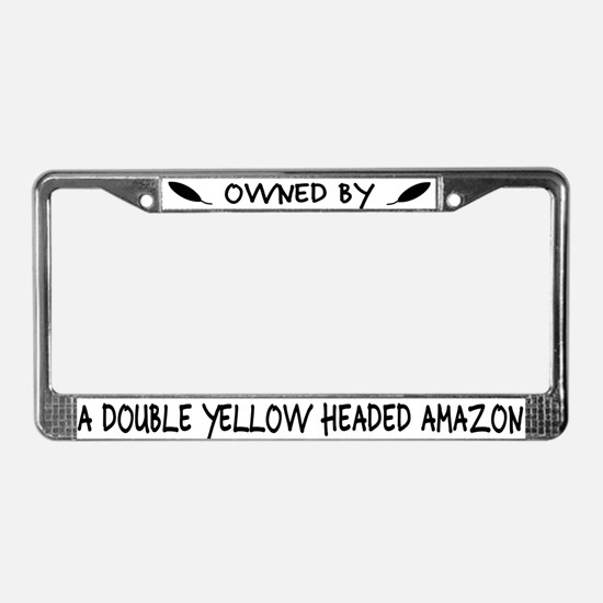 Owned by a DYH Amazon License Plate Frame