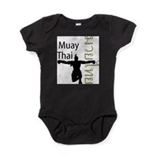 Cute Muay thai Baby Bodysuit