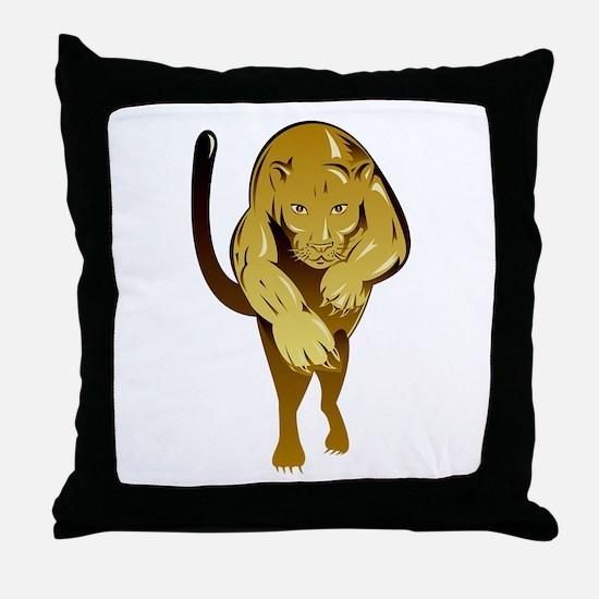 Lioness Throw Pillow