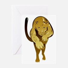 Lioness Greeting Cards