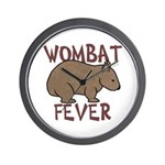 Wombat Fever III Wall Clock