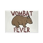 Wombat Fever III Rectangle Magnet (10 pack)