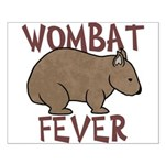 Wombat Fever III Small Poster