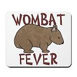 Wombat Fever III Mousepad