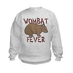Wombat Fever III Kids Sweatshirt