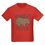 Wombat Fever III Kids Dark T-Shirt