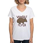 Wombat Fever III Women's V-Neck T-Shirt
